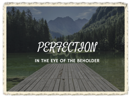 Pursue Excellence But Avoid Perfectionism